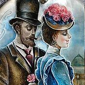 Украшения handmade. Livemaster - original item The mysteries of Paris Postponed. Handmade.