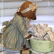 Куклы и игрушки ручной работы. Ярмарка Мастеров - ручная работа Мишка Зю-Зю. Handmade.
