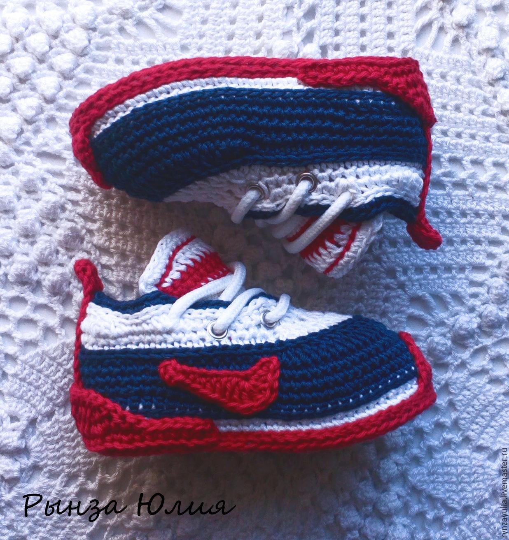 кроссовки вязанные схемы