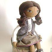 Куклы и игрушки ручной работы. Ярмарка Мастеров - ручная работа МАЙЯ - текстильная кукла для интерьера. Handmade.