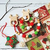 Одежда handmade. Livemaster - original item Christmas stationery-gryzunki with a deer. Handmade.