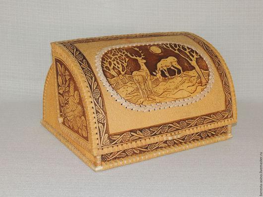 """Кухня ручной работы. Ярмарка Мастеров - ручная работа. Купить Хлебница """"Важенка"""". Handmade. Хлебница, берестяные изделия, купить хлебницу"""
