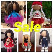 Куклы и игрушки ручной работы. Ярмарка Мастеров - ручная работа Интерьерная/ текстильная кукла. Handmade.