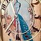 """Часы для дома ручной работы. Часы """"Маникен"""". Виктория. Ярмарка Мастеров. Часы интерьерные, заготовка деревянная"""