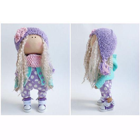 Коллекционные куклы ручной работы. Ярмарка Мастеров - ручная работа. Купить Интерьерная куколка. Handmade. Подружки, любимая игрушка