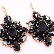Украшения handmade. Livemaster - original item Evening earrings