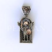 Украшения handmade. Livemaster - original item Silver suspension silver,gold Archangel Michael. Handmade.