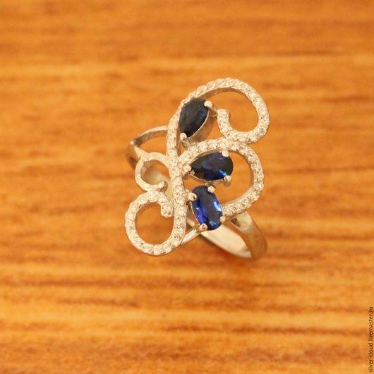 Кольца ручной работы. Ярмарка Мастеров - ручная работа. Купить Серебряное кольцо Театральное, серебро 925 пробы. Handmade.