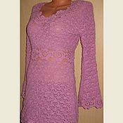 Одежда handmade. Livemaster - original item Dress knitted out of wool.. Handmade.