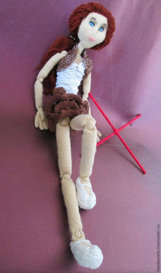 Человечки ручной работы. Ярмарка Мастеров - ручная работа. Купить Вязаная кукла Марионетка. Handmade. Кукла ручной работы, handmade
