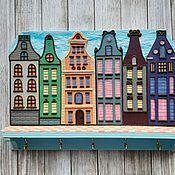 Для дома и интерьера handmade. Livemaster - original item The Housekeeper Amsterdam 4. The housekeeper wall.. Handmade.
