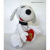 Куклы и игрушки ручной работы. Ярмарка Мастеров - ручная работа Snoopy. Handmade.