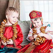 """Народные костюмы ручной работы. Ярмарка Мастеров - ручная работа комплект """"Аленушка"""". Handmade."""
