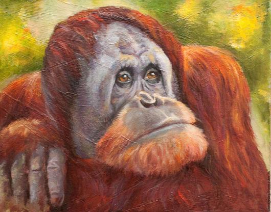 Животные ручной работы. Ярмарка Мастеров - ручная работа. Купить Год обезьяны. Handmade. Комбинированный, орангутанг, обезьяна