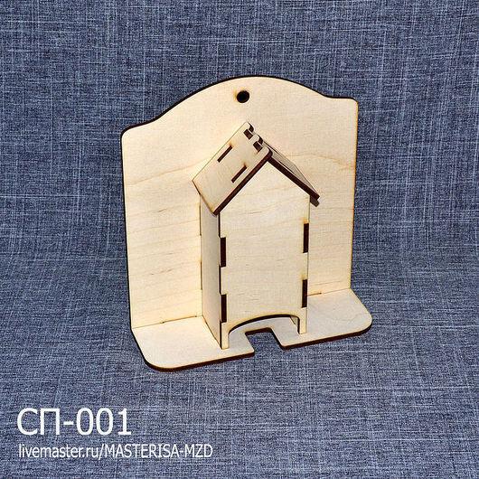 СП-001. Короб для хранения спичек с подставкой. Удобная и практичная вещь. Отлично впишется в интерьер любой кухни.