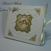 Сувениры и подарки ручной работы. Ярмарка Мастеров - ручная работа Коробка  для диска .. Handmade.