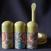 Для дома и интерьера ручной работы. Ярмарка Мастеров - ручная работа Набор для специй. Handmade.