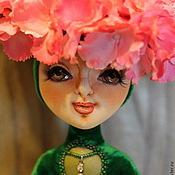 Куклы и игрушки ручной работы. Ярмарка Мастеров - ручная работа Интерьерная кукла Гортензия.. Handmade.