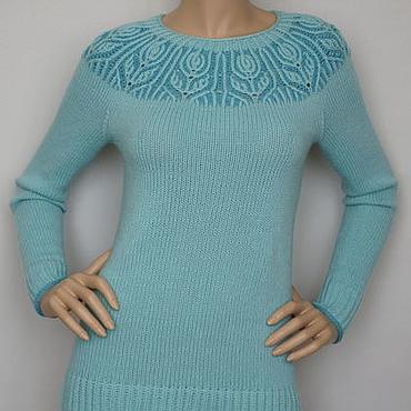 """Одежда ручной работы. Ярмарка Мастеров - ручная работа Пуловер  меринос """"Helenium"""". Handmade."""