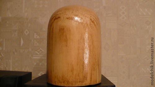 Манекены ручной работы. Ярмарка Мастеров - ручная работа. Купить Болванка (болван) 114 овальная. Handmade. Болванка, тумба