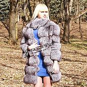 Одежда handmade. Livemaster - original item fur coat from Arctic Fox. Handmade.