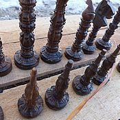 Куклы и игрушки handmade. Livemaster - original item Carved chess