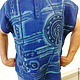"""Для мужчин, ручной работы. Ярмарка Мастеров - ручная работа. Купить Рубашка поло мужская  """"Солнцестояние"""" из льна. Handmade. Бижутерия"""