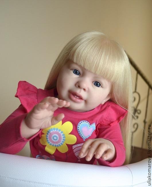 Куклы-младенцы и reborn ручной работы. Ярмарка Мастеров - ручная работа. Купить Кати-Мари 2. Handmade. Бежевый