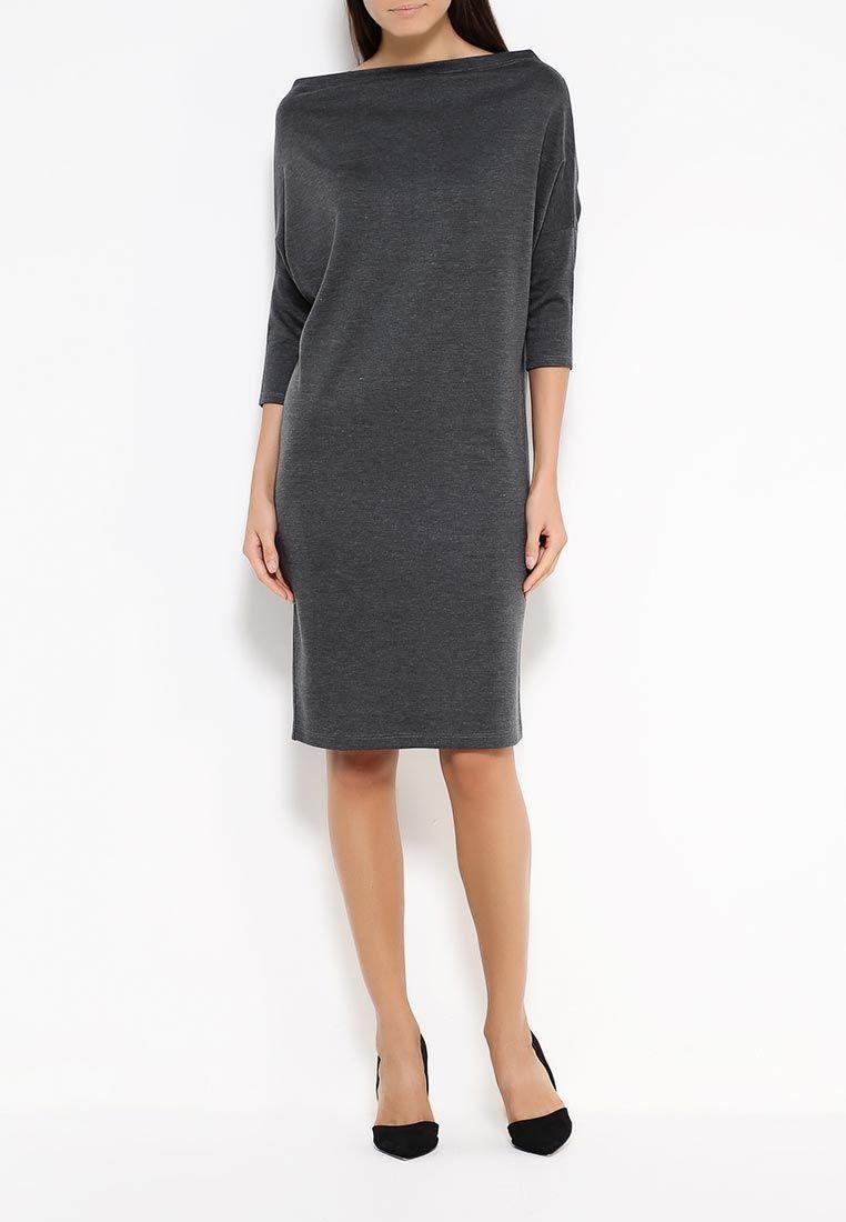 ba62ea4b31eb Dresses handmade. Livemaster - handmade. Buy MIDI dress made of thick knit dark  grey ...