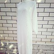 Одежда ручной работы. Ярмарка Мастеров - ручная работа Платье белое. Handmade.