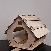 Кормушка для птиц ручной работы. Ярмарка Мастеров - ручная работа Кормушка для птиц. Handmade.