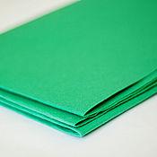 Материалы для творчества ручной работы. Ярмарка Мастеров - ручная работа Фетр зелено-бирюзовый жесткий 1,2 мм Корея полиэстер. Handmade.
