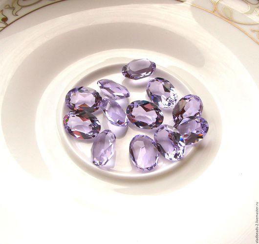 Для украшений ручной работы. Ярмарка Мастеров - ручная работа. Купить Oval Swarovski 14x10мм Violet прозрачный (!). Handmade.