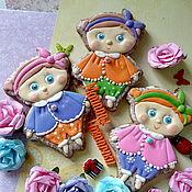 Пряники ручной работы. Ярмарка Мастеров - ручная работа Куклы. Handmade.