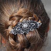 Украшения handmade. Livemaster - original item Mysterious comet Lace hair Clip Brooch handmade. Handmade.