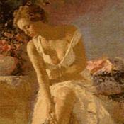 """Картины и панно ручной работы. Ярмарка Мастеров - ручная работа Вышитая картина """"Анжелика"""". Handmade."""