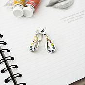 Украшения handmade. Livemaster - original item earrings: Palette with tube. Handmade.