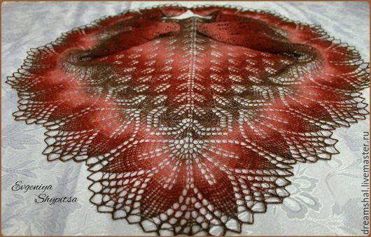 Шали, палантины ручной работы. Ярмарка Мастеров - ручная работа. Купить Шаль Харуни. Handmade. Комбинированный, шаль в подарок