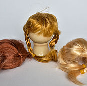 Материалы для творчества handmade. Livemaster - original item Wig hair pieces for dolls in stock. Handmade.
