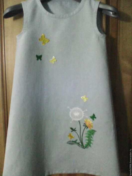 Одежда для девочек, ручной работы. Ярмарка Мастеров - ручная работа. Купить Платье летнее для девочки. Handmade. Комбинированный, платье для девочки