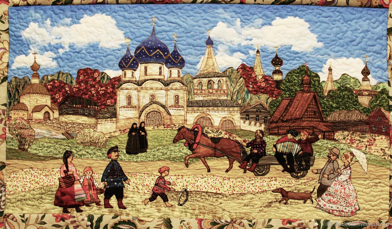 Летний Суздаль, Картины, Владимир,  Фото №1