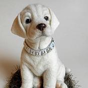 Куклы и игрушки handmade. Livemaster - original item Labrador dog LORD. Handmade.