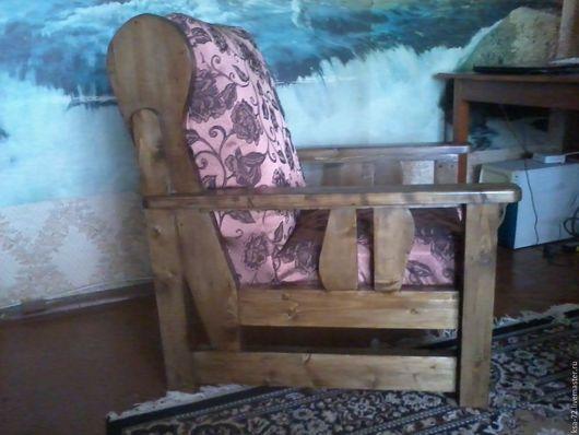 Мебель ручной работы. Ярмарка Мастеров - ручная работа. Купить Кресло. Handmade. Ореховый, поролон