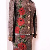 Одежда handmade. Livemaster - original item felted costume