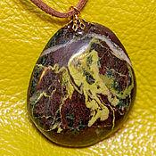Украшения handmade. Livemaster - original item THE SCREAM. Greenstone pendant. Handmade.