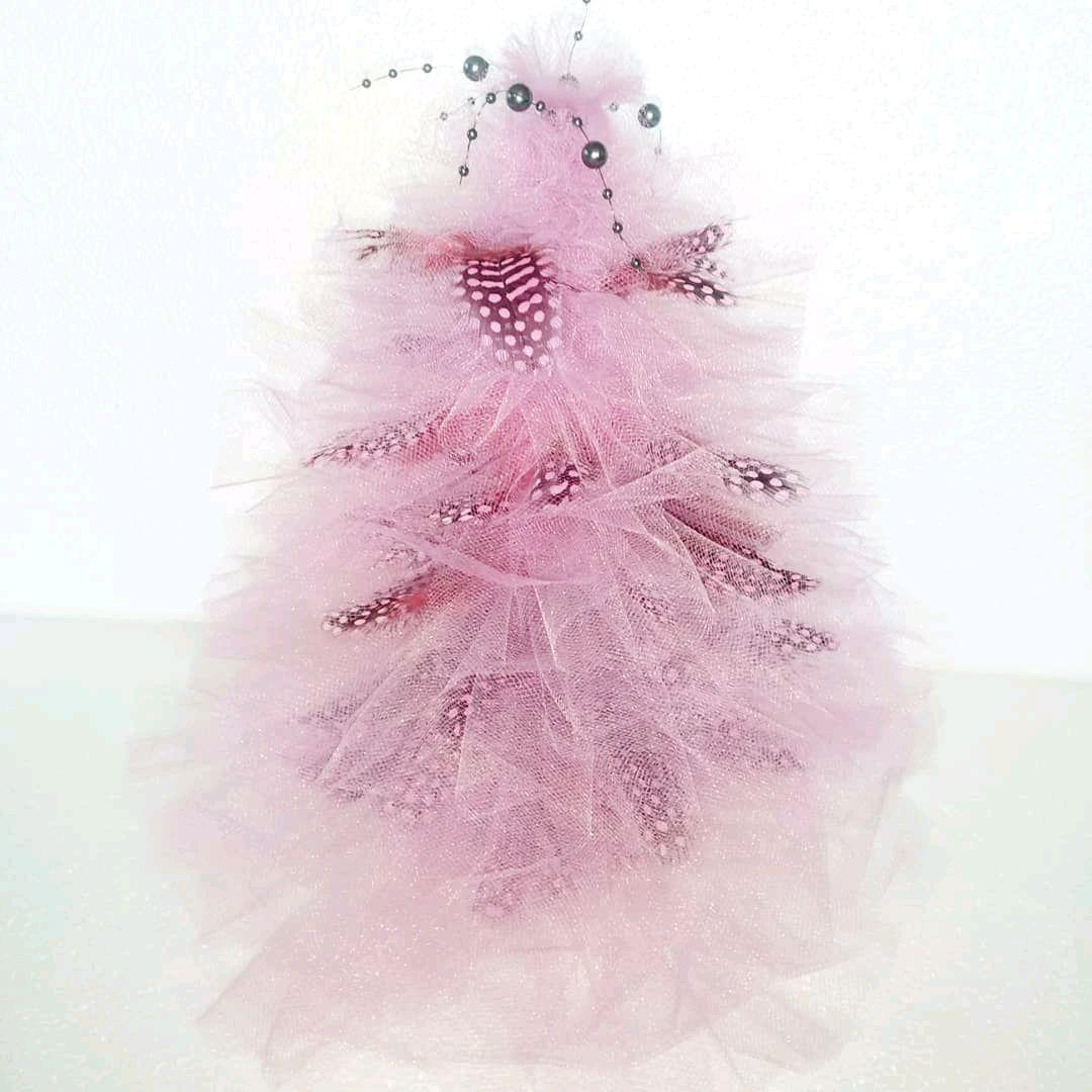 больше деталей елка из фатина с конфетами картинки рождается уникальная