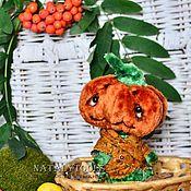 Куклы и игрушки ручной работы. Ярмарка Мастеров - ручная работа Тетушка Тыква Осенняя Pumpkin teddy. Handmade.