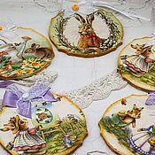 Сувениры и подарки handmade. Livemaster - original item Easter souvenirs pendants Bright Easter. Handmade.
