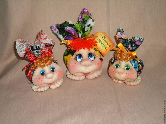 Сказочные персонажи ручной работы. Ярмарка Мастеров - ручная работа. Купить Мешочек счастья. Handmade. Куклы из капрона, пряжа для вязания