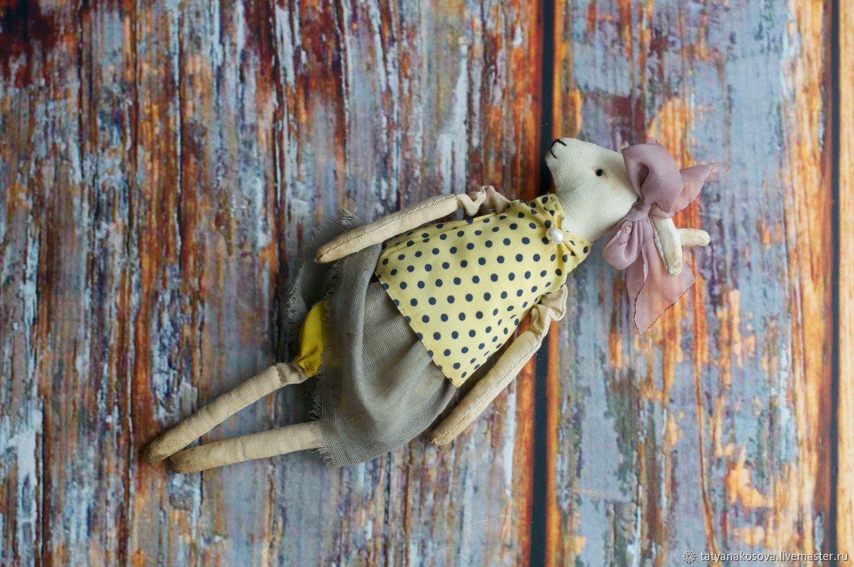 Primitive artist textil Toy GOAT, Rag Doll, Kazan,  Фото №1